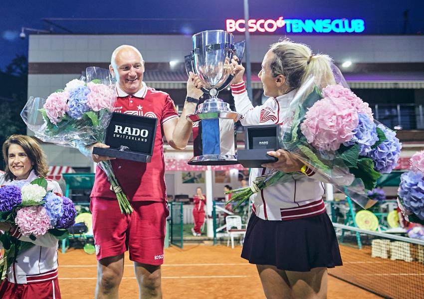 Алексей Сонк и Василиса Давыдова