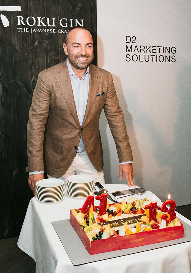 День рождения Дмитрия Дудинского и 13-летие D2 Marketing Solutions