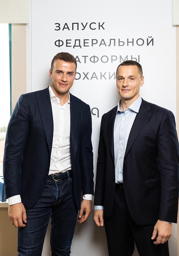 Создатели проекта bioniq Вадим Федотов и Константин Карузин