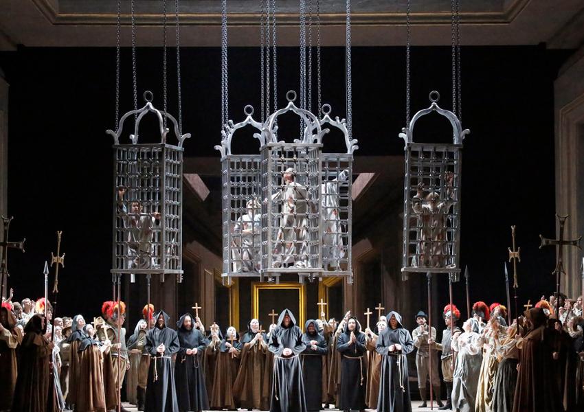 Опера «Дон Карлос» с Анной Нетребко, Ильдаром Абдразаковым и Юсифом Эйвазовым