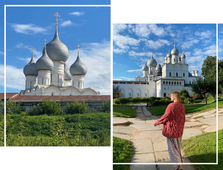 #PostaTravelNotes: дизайнер Вика Газинская — о путешествии в Ростов Великий