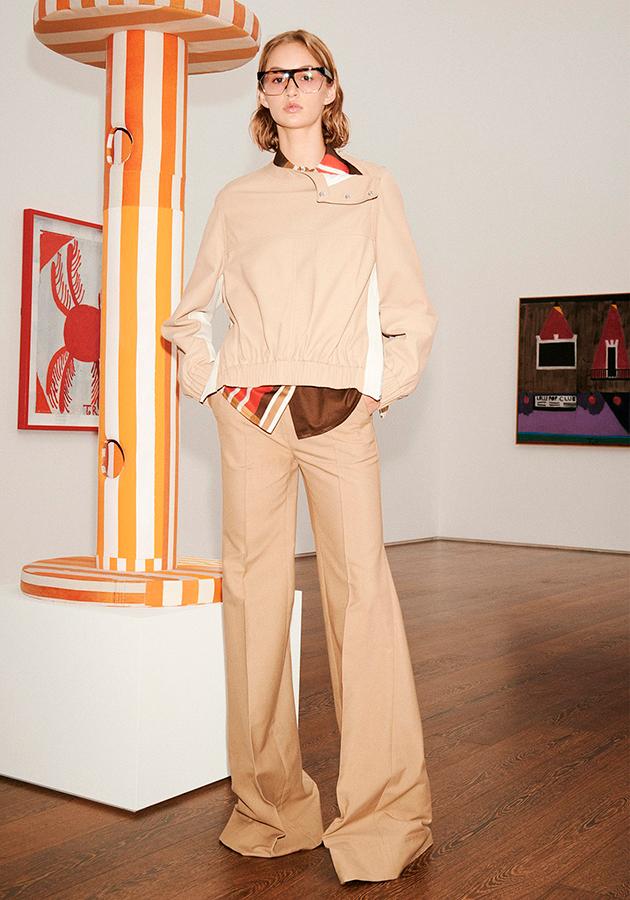 Коллекция весна-лето 2021 Victoria Beckham: минимализм и дух свободы 70-х