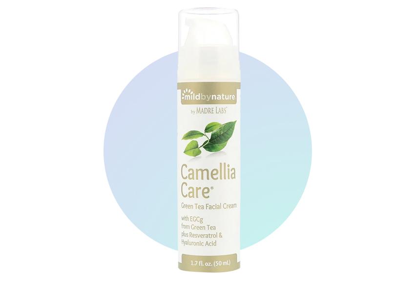 Крем для лица и тела с зеленым чаем Mild by Nature Camellia Care