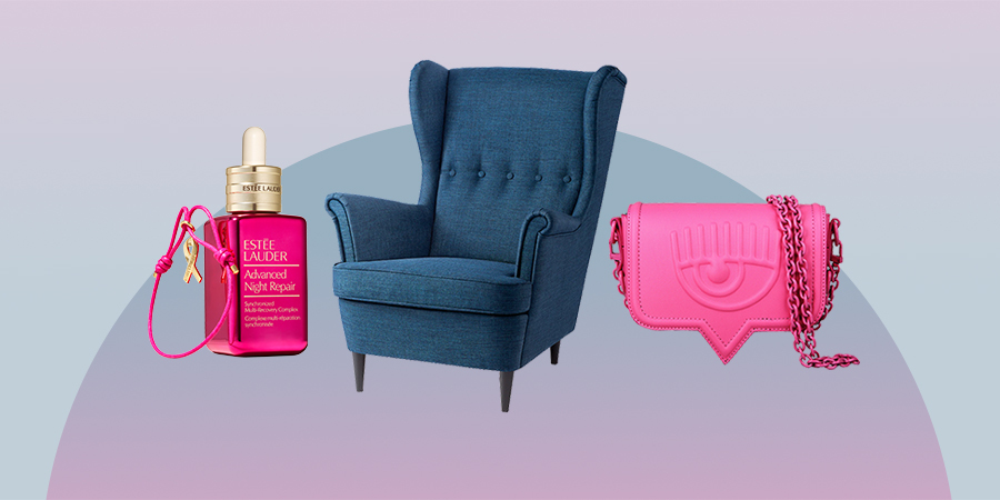 Добрые новости: кампания против рака груди, сумка против киберугроз и мебель на благотворительность