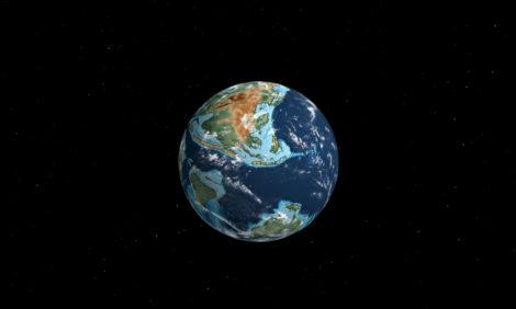 Интерактивный глобус покажет, как менялась Земля на протяжении миллионов лет
