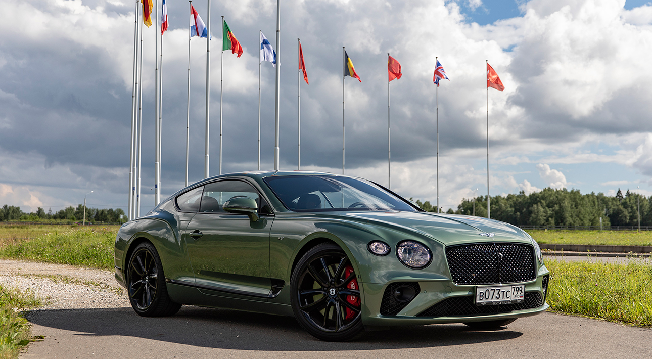 Авто с Яном Коомансом: обзор Bentley Continental GT V8