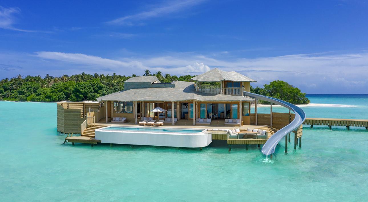 Мальдивский курорт Soneva Fushi представляет самые большие в мире виллы на воде