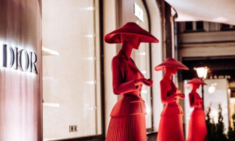 Коктейль в честь открытия обновленного бутика Dior в Столешниковом переулке