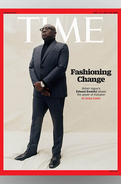 Men in Power: главный редактор британского Vogue Эдвард Эннинфул — на обложке Time
