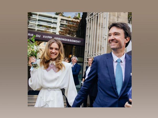 Фото дня: Наталья Водянова и Антуан Арно поженились