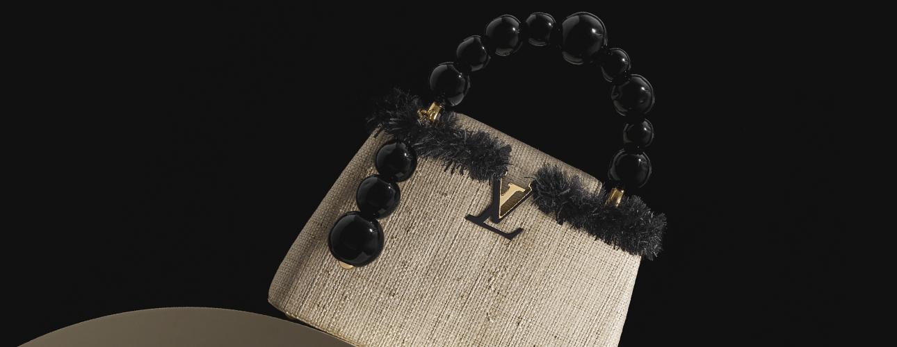 Style Notes: современные художники создали свою версию культовой сумки Capucines Louis Vuitton