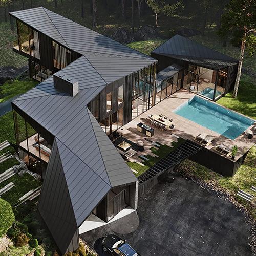 Real Estate: Aston Martin проектирует частную резиденцию в долине Гудзона