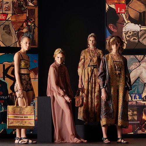 Время заботиться о себе: в Париже показали коллекцию Dior весна-лето 2021