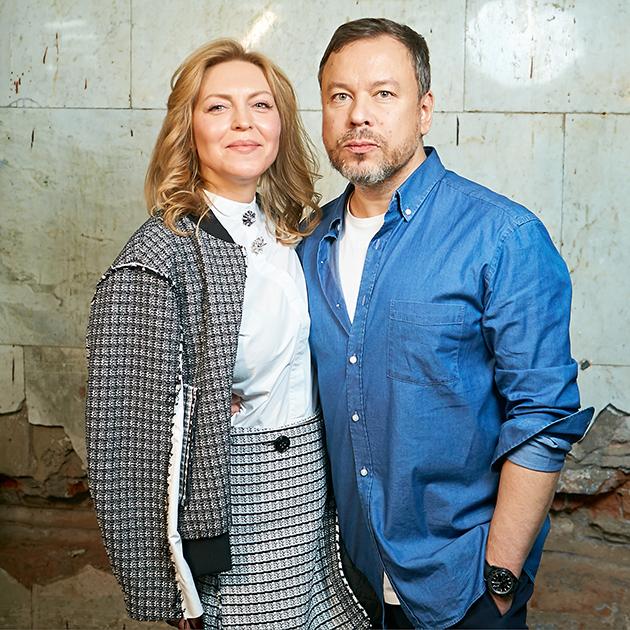 Дарья Михалкова и Игорь Чапурин