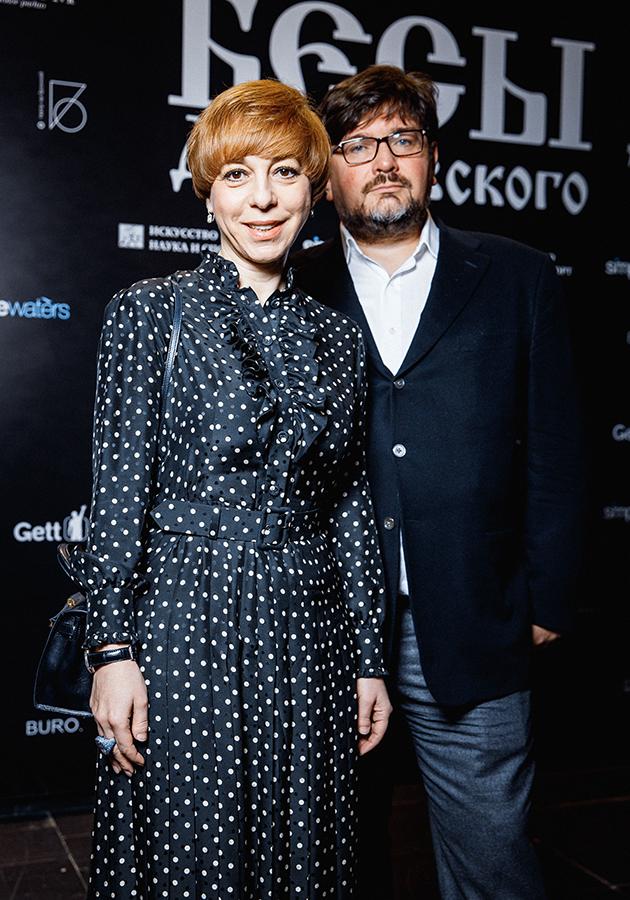 Марианна Максимовская с мужем