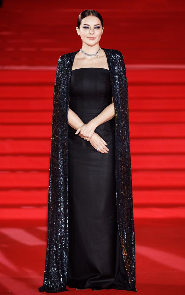 Марина Александрова — в украшениях Tiffany & Co. на закрытии ММКФ-2020