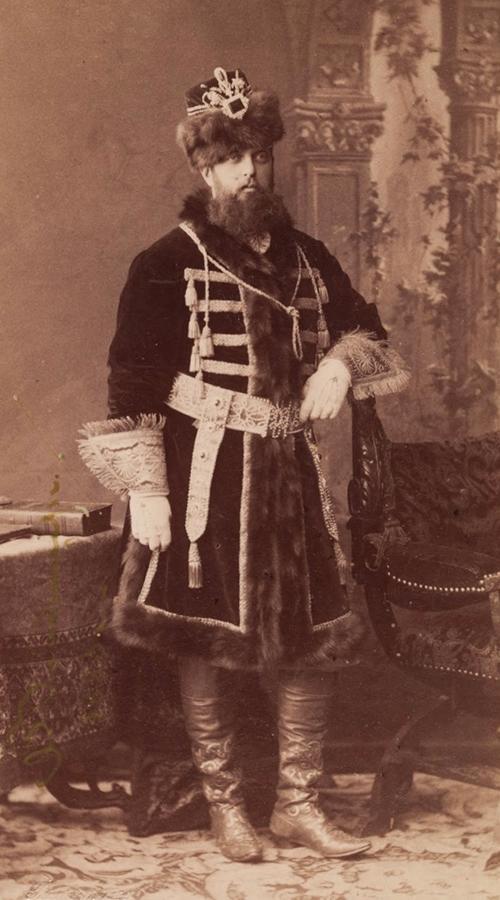 Великий князь Владимир Александрович в костюме боярина XVII века. Фото предоставлено пресс-службой ГИМ.