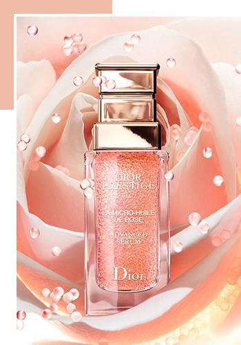 Новая сыворотка Dior Prestige La Micro Huile De Rose Advanced Serum