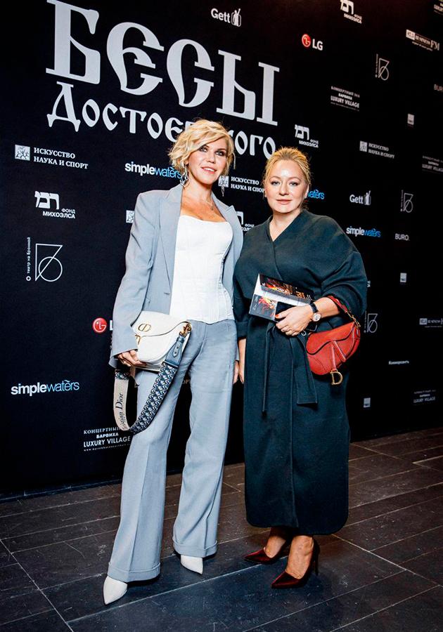 Мила Марсель и Татьяна Сабуренкова