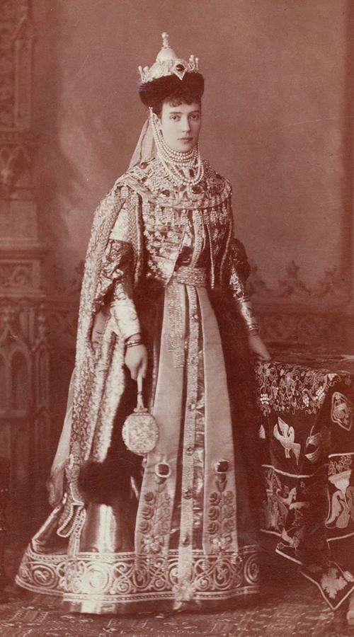 Императрица Мария Фёдоровна в маскарадном костюме. Фото предоставлено пресс-службой ГИМ.