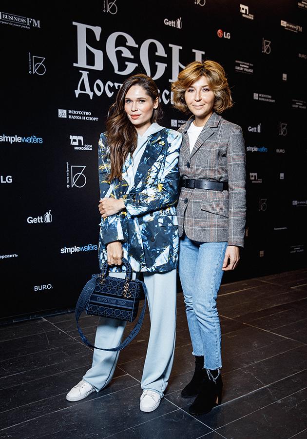 Полина Аскери и Виктория Полякова