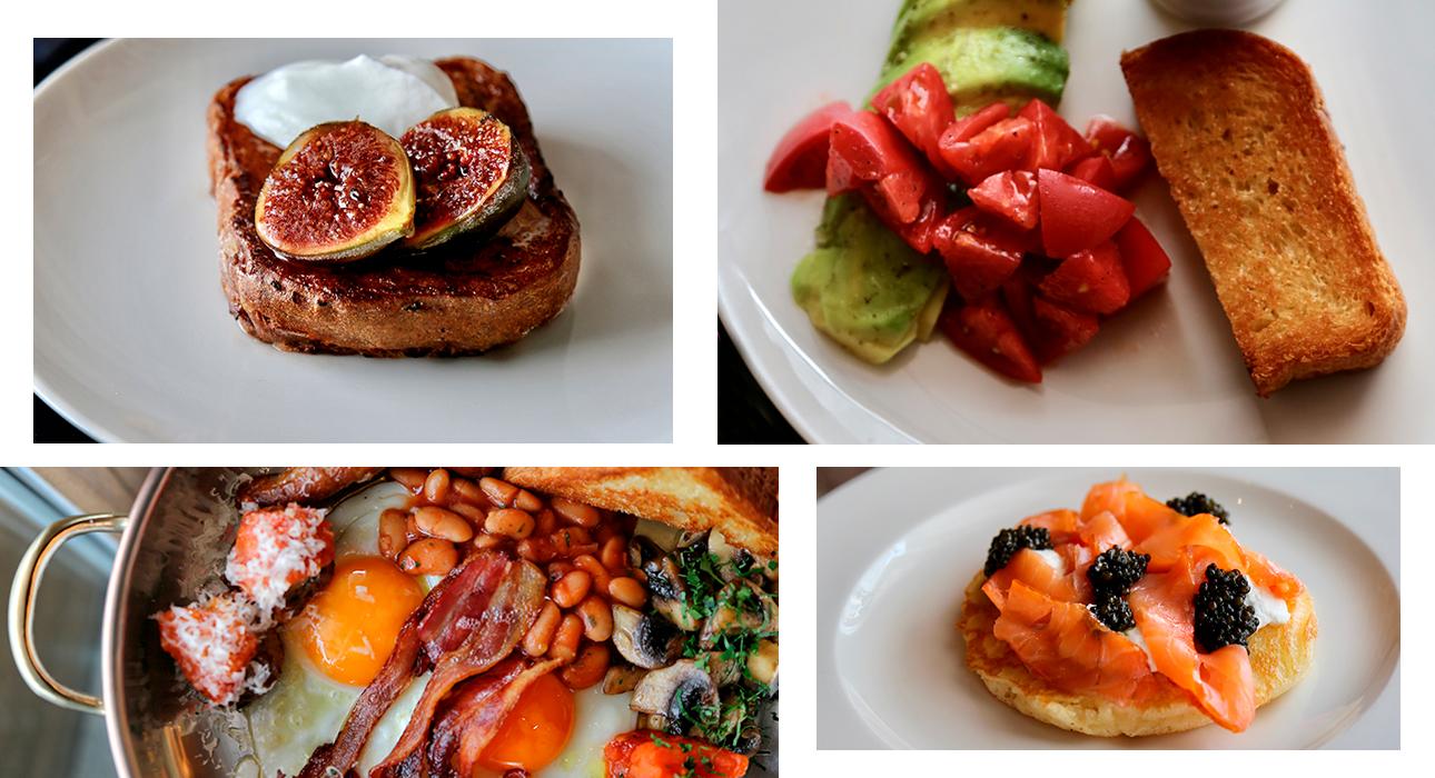 Loro: новое меню завтраков от бренд-шефа Глена Баллиса