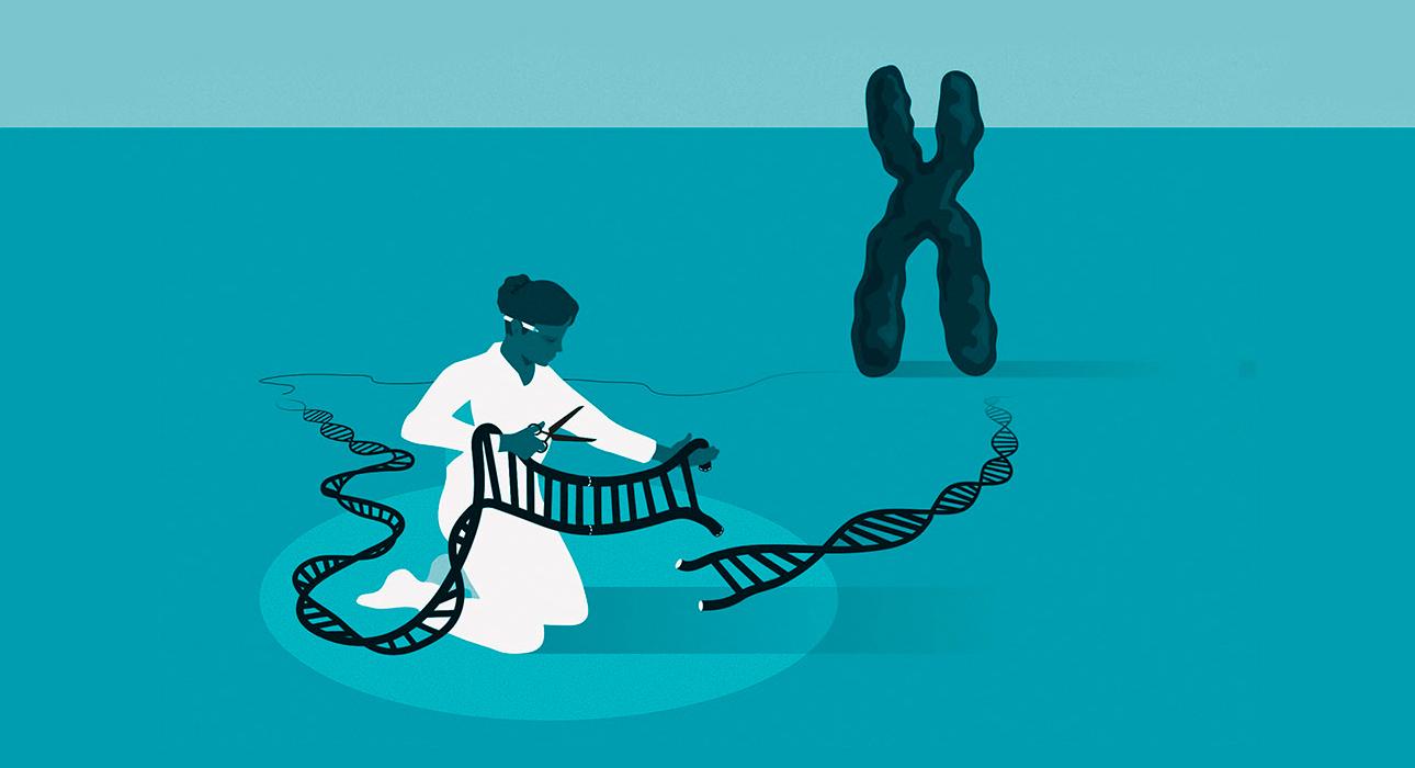 Нобелевская премия за генетические ножницы