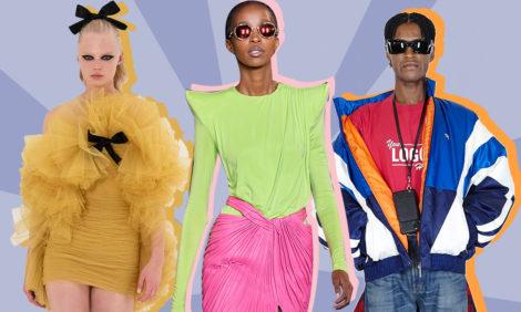 Неделя моды в Париже: цветные капсулы Эли Сааба, небинарный Louis Vuitton, экосознательный Balmain и другие тренды сезона