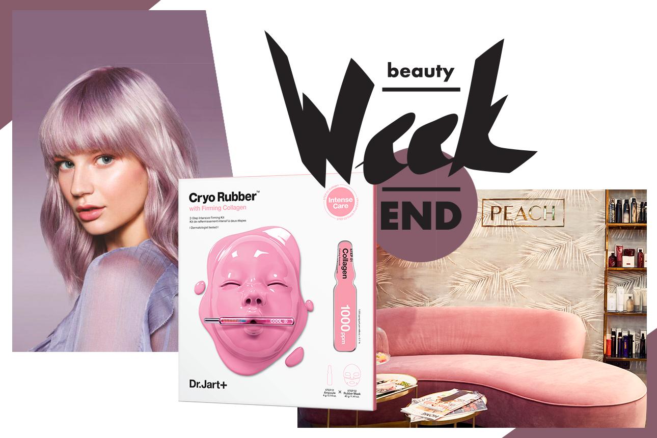 Бьюти-уикенд: уроки макияжа, креативное окрашивание волос и новые криомаски Dr.Jart+