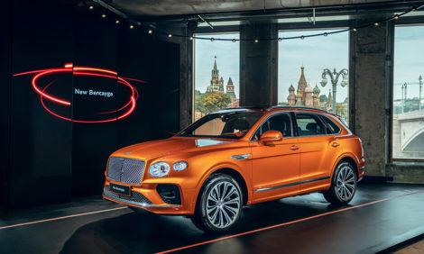 Российская премьера нового Bentley Bentayga в роскошных апартаментах Tsarev Sad
