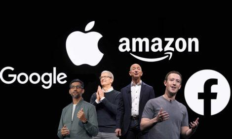 #PostaБизнес: жесткого контроля за Facebook, Apple, Google и Amazon требуют в Палате представителей США