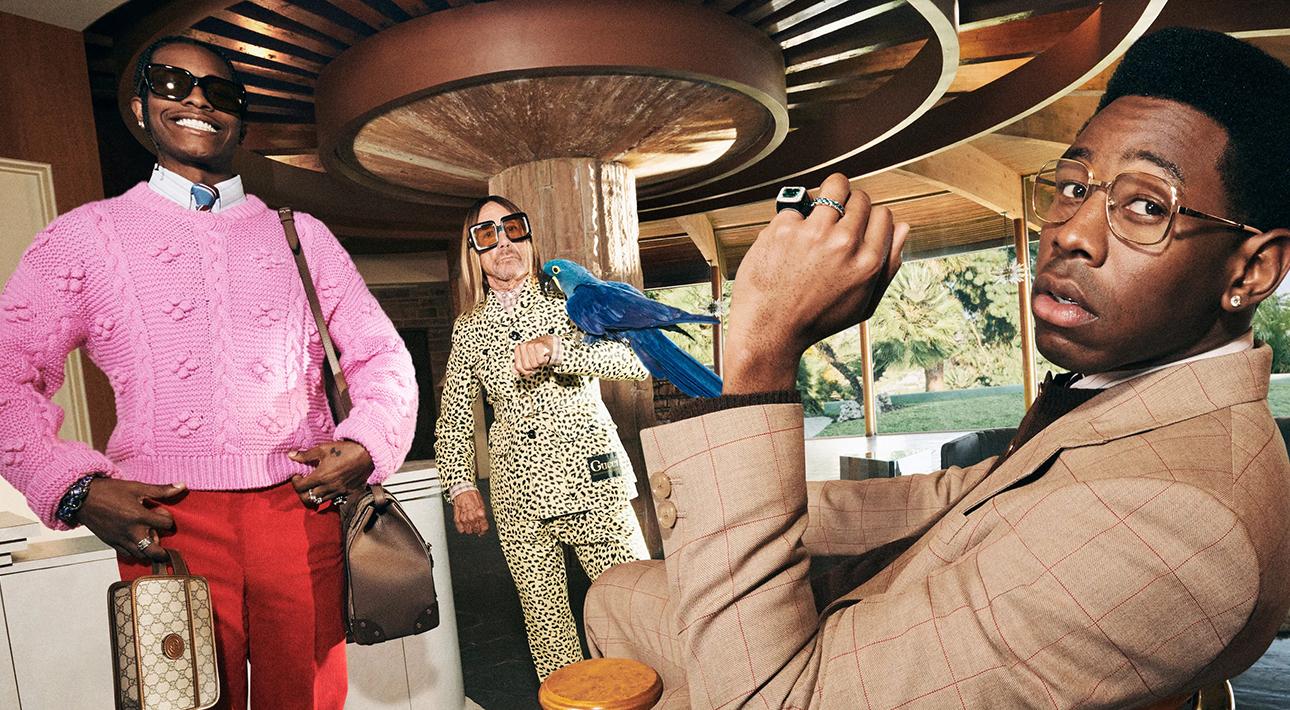 Игги Поп показал в Instagram ролик рекламной кампании Gucci со своим участием