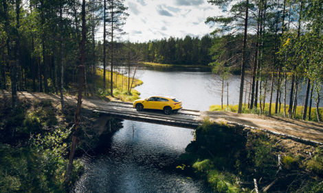 Авто с Яном Коомансом: на Lamborghini по Карелии