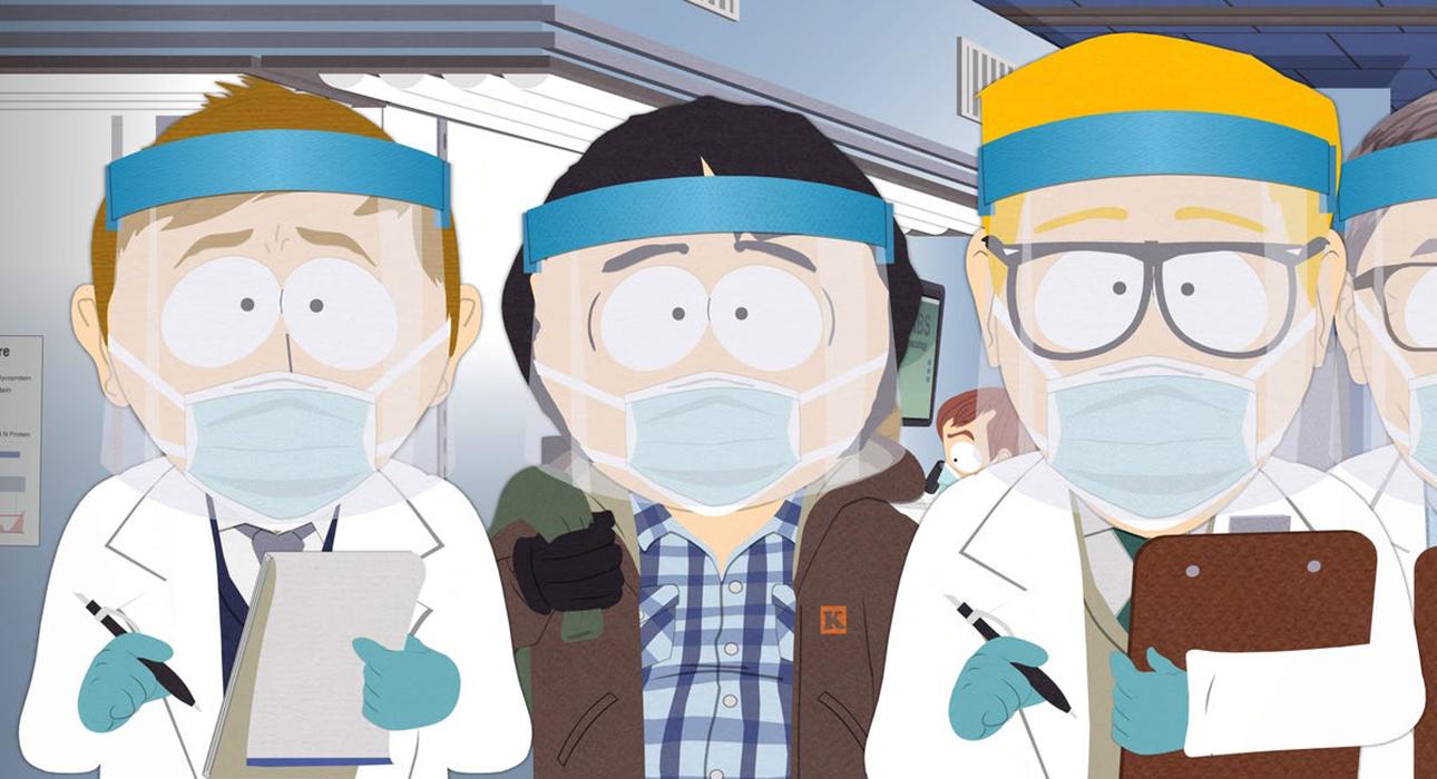 Пандемия в Южном Парке: новый эпизод культового мультсериала установил 7-летний рекорд по просмотрам
