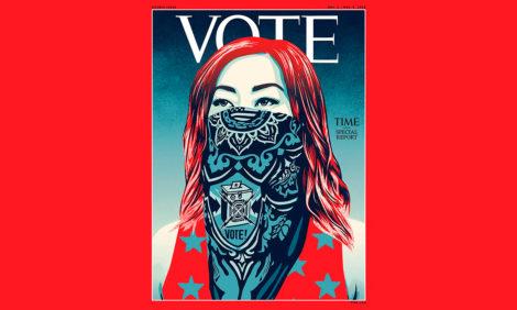Журнал Time сменил название — но только для спецвыпуска о выборах