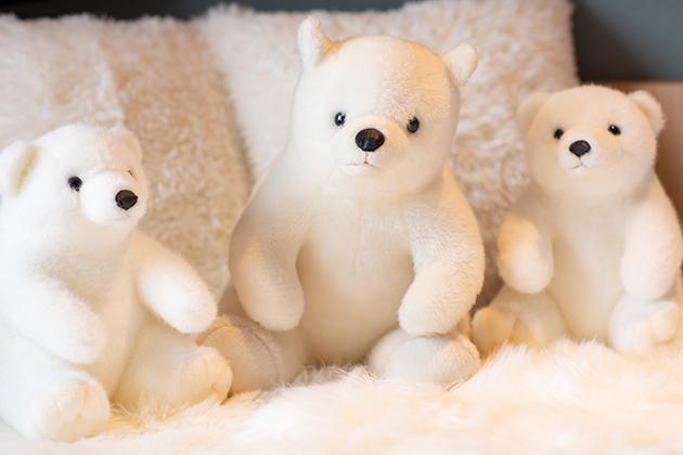 В отеле на Хоккайдо номера оформили в тематике белых медведей