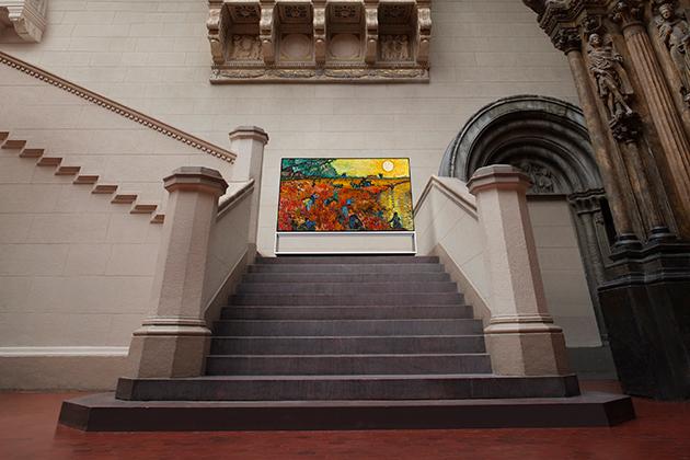 Кампания «LG Signature X Пушкинский музей» — как технологии дополняют искусство