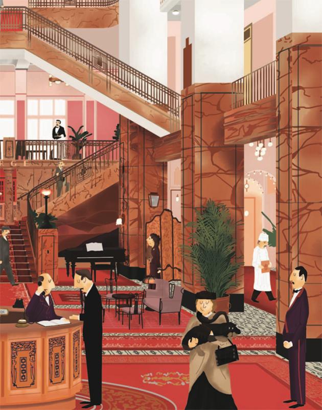 Идея подарка: иллюстрированная книга «Отель «Гранд Будапешт» о создании знаменитой комедии Уэса Андерсона