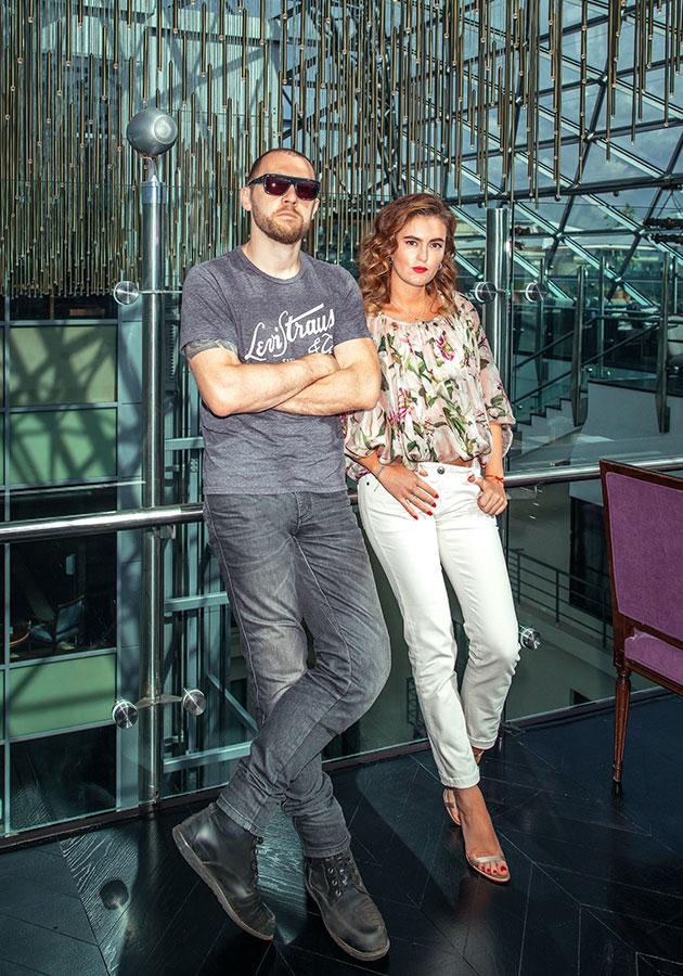 Денис Шведов и Рената Пиотровски