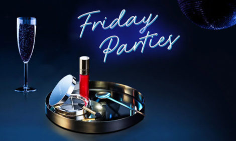 Friday Parties в интернет-магазине Clarins
