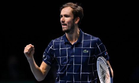 #PostaСпорт: 24-летний россиянин Даниил Медведев выиграл Итоговый турнир АТР