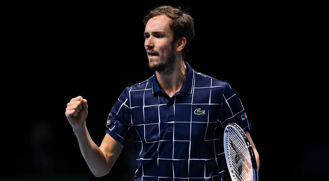 24-летний россиянин Даниил Медведев выиграл Итоговый турнир АТР