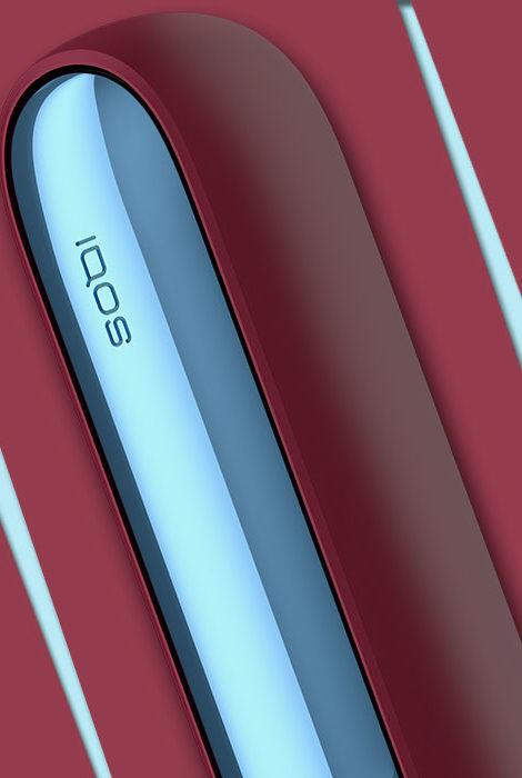 Новая лимитированная коллекция IQOS 3 DUOS: нордическая вишня и морозная лазурь