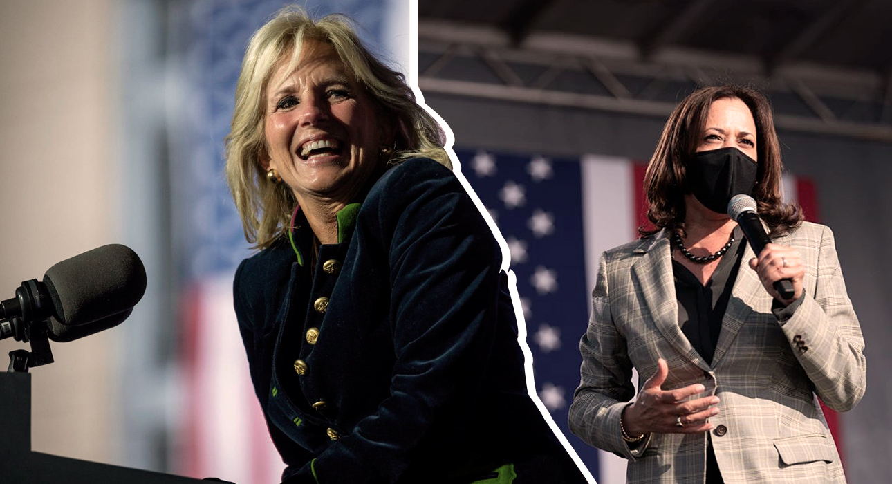Style Notes: одежду каких дизайнеров выбирают первая и вторая леди США