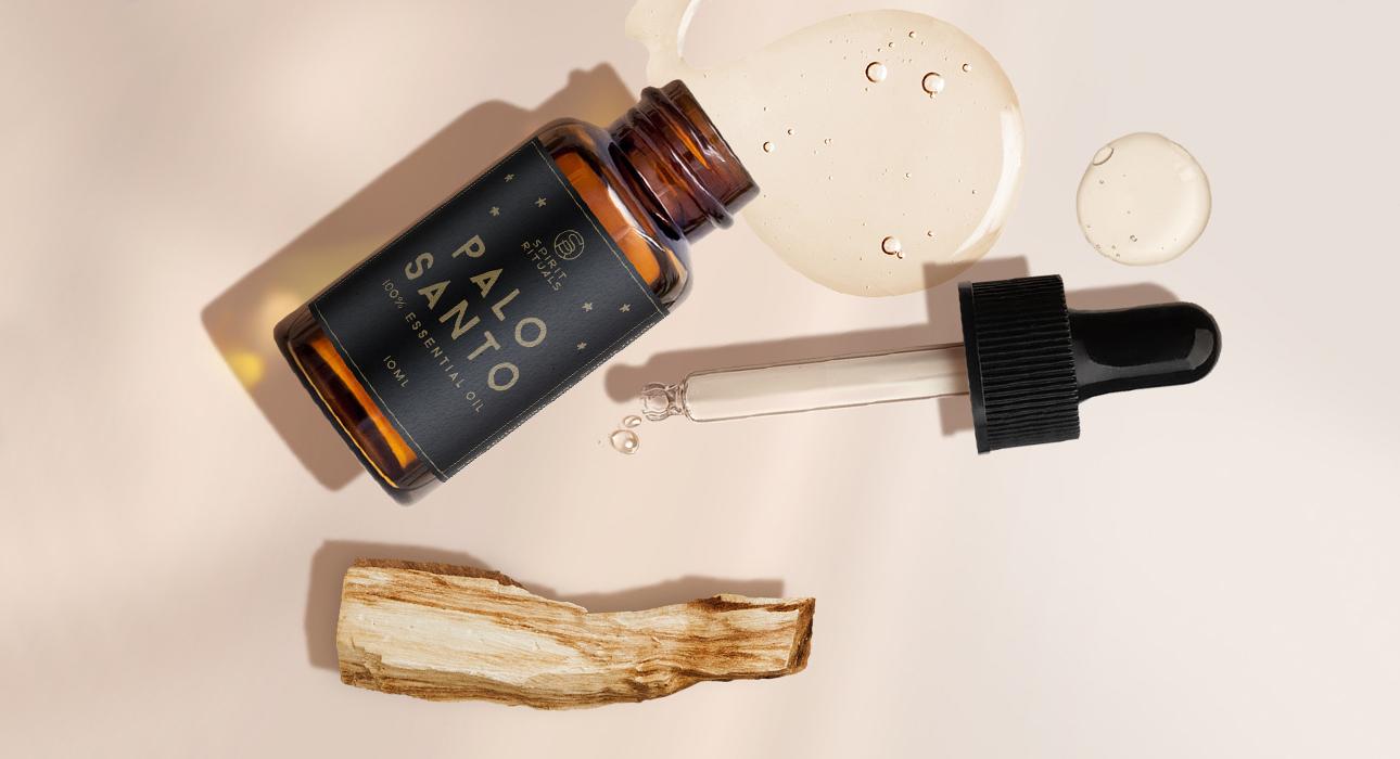 Идея подарка: ароматический диффузор с маслом пало санто