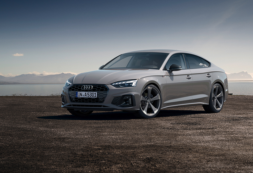 Обновленный Audi A5