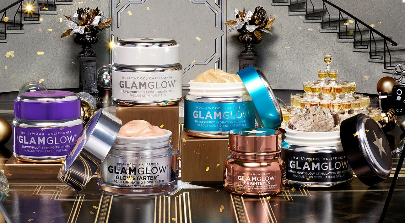 Набор масок Hollywood Glowing Skin Treasures, Glamglow