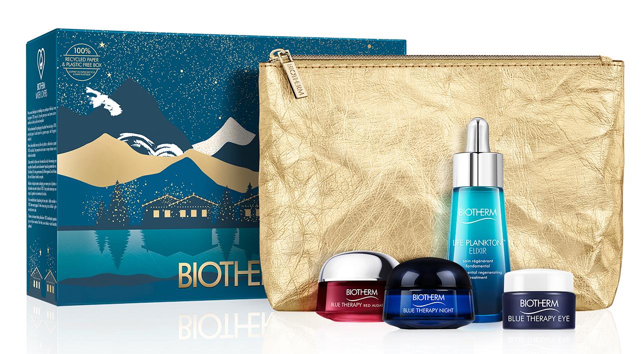 Набор для антивозрастного ухода за кожей лица Blue Therapy Red Algae, Biotherm