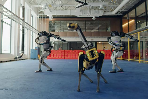 Роботы Boston Dynamics танцуют под песню Do You Love Me