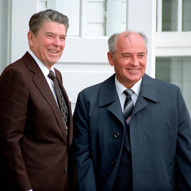 «Рейган и Горбачев»